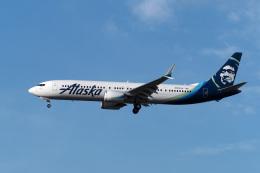 LAX Spotterさんが、ロサンゼルス国際空港で撮影したアラスカ航空 737-9-MAXの航空フォト(飛行機 写真・画像)
