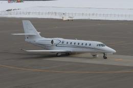 空猫さんが、札幌飛行場で撮影したノエビア 680 Citation Sovereignの航空フォト(飛行機 写真・画像)