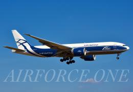 AIRFORCE ONEさんが、成田国際空港で撮影したエアブリッジ・カーゴ・エアラインズ 777-Fの航空フォト(飛行機 写真・画像)