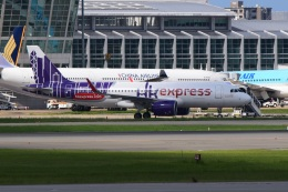 bachi51さんが、福岡空港で撮影した香港エクスプレス A320-271Nの航空フォト(飛行機 写真・画像)
