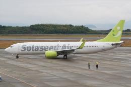 HEATHROWさんが、長崎空港で撮影したソラシド エア 737-86Nの航空フォト(飛行機 写真・画像)
