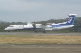 HEATHROWさんが、対馬空港で撮影したANAウイングス DHC-8-402Q Dash 8の航空フォト(飛行機 写真・画像)