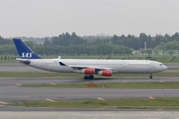 ☆H・I・J☆さんが、成田国際空港で撮影したスカンジナビア航空 A340-313Xの航空フォト(飛行機 写真・画像)
