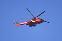 senbaさんが、埼玉県戸田市上空で撮影した東京消防庁航空隊 EC225LP Super Puma Mk2+の航空フォト(飛行機 写真・画像)