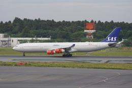 神宮寺ももさんが、成田国際空港で撮影したスカンジナビア航空 A340-313Xの航空フォト(飛行機 写真・画像)