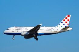 ちっとろむさんが、フランクフルト国際空港で撮影したクロアチア航空 A319-112の航空フォト(飛行機 写真・画像)