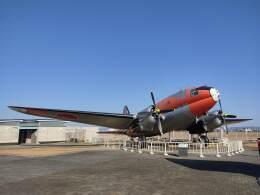 ジャンクさんが、浜松基地で撮影した航空自衛隊 C-46A-50-CUの航空フォト(飛行機 写真・画像)