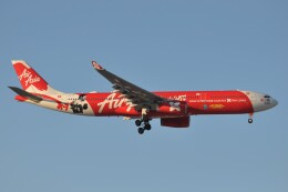 Flying A340さんが、成田国際空港で撮影したエアアジア・エックス A330-343Xの航空フォト(飛行機 写真・画像)