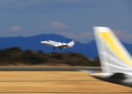 タミーさんが、静岡空港で撮影した静岡エアコミュータ 525A Citation CJ2+の航空フォト(飛行機 写真・画像)