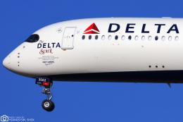 LSGさんが、仁川国際空港で撮影したデルタ航空 A350-941の航空フォト(飛行機 写真・画像)
