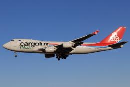 Shin-chaさんが、成田国際空港で撮影したカーゴルクス 747-4R7F/SCDの航空フォト(飛行機 写真・画像)