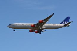 Deepさんが、成田国際空港で撮影したスカンジナビア航空 A340-313Xの航空フォト(飛行機 写真・画像)