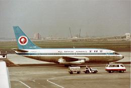 やまモンさんが、羽田空港で撮影した全日空 737-281/Advの航空フォト(飛行機 写真・画像)