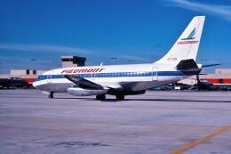パール大山さんが、ハーツフィールド・ジャクソン・アトランタ国際空港で撮影したピードモント航空 737-281の航空フォト(飛行機 写真・画像)