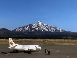 North1973さんが、利尻空港で撮影した北海道エアシステム 340B/Plusの航空フォト(飛行機 写真・画像)