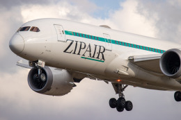 JA1118Dさんが、成田国際空港で撮影したZIPAIR 787-8 Dreamlinerの航空フォト(飛行機 写真・画像)