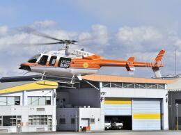 パンサーRP21さんが、群馬ヘリポートで撮影した新日本ヘリコプター 407GXiの航空フォト(飛行機 写真・画像)