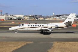 aki241012さんが、福岡空港で撮影した中日本航空 560 Citation Vの航空フォト(飛行機 写真・画像)