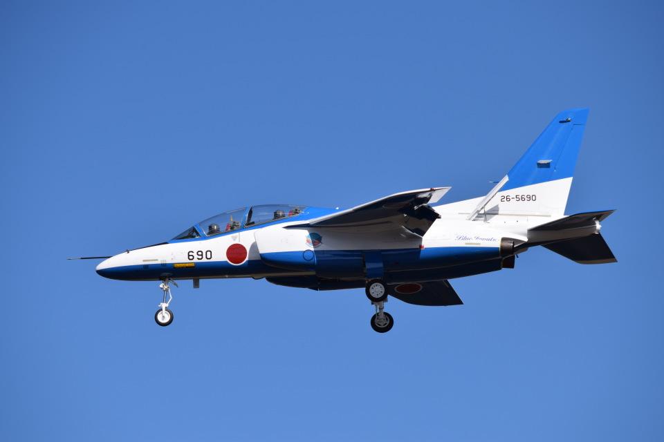 SYさんの航空自衛隊 Kawasaki T-4 (26-5690) 航空フォト