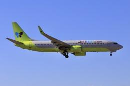 aki241012さんが、福岡空港で撮影したジンエアー 737-8Q8の航空フォト(飛行機 写真・画像)