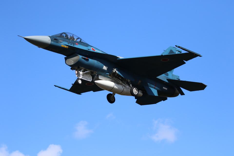 ☆ゆっきー☆さんの航空自衛隊 Mitsubishi F-2A (93-8553) 航空フォト