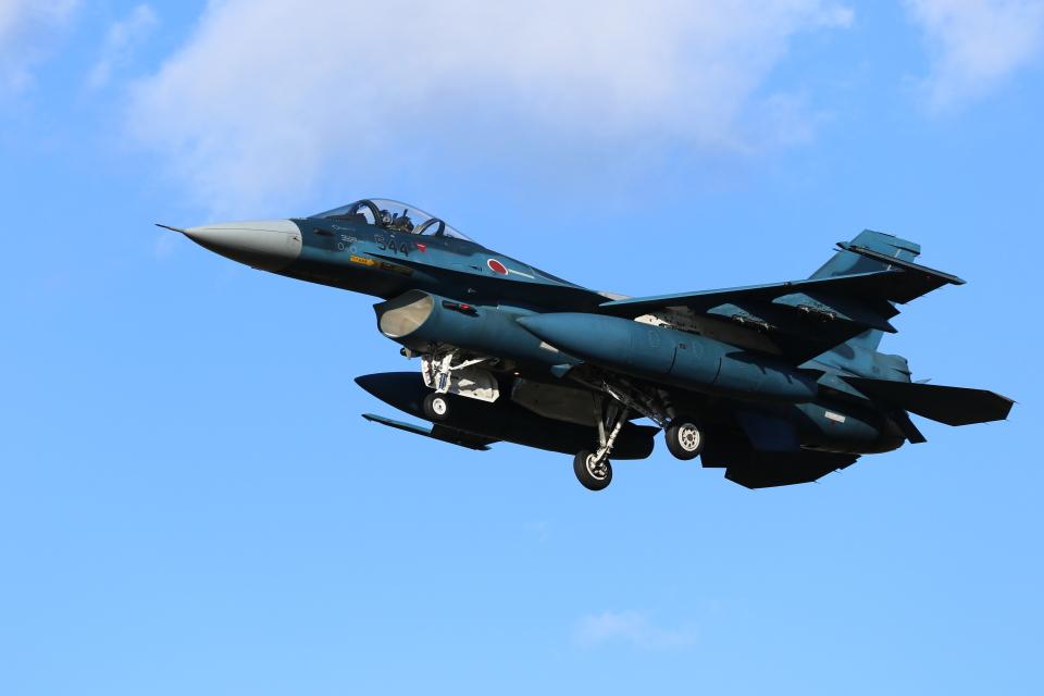 ☆ゆっきー☆さんの航空自衛隊 Mitsubishi F-2A (83-8544) 航空フォト
