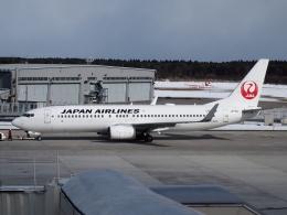 FT51ANさんが、三沢飛行場で撮影した日本航空 737-846の航空フォト(飛行機 写真・画像)