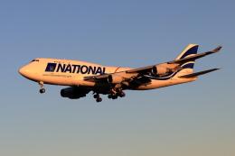 Shin-chaさんが、成田国際空港で撮影したナショナル・エアラインズ 747-412(BCF)の航空フォト(飛行機 写真・画像)