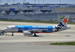 kix-booby2さんが、関西国際空港で撮影したジェットスター・アジア A320-232の航空フォト(飛行機 写真・画像)