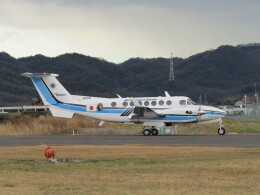 F.YUKIHIDEさんが、岡南飛行場で撮影したジャプコン King Air 350C (B300C)の航空フォト(飛行機 写真・画像)