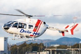 T spotterさんが、名古屋飛行場で撮影したセントラルヘリコプターサービス BK117C-2の航空フォト(飛行機 写真・画像)