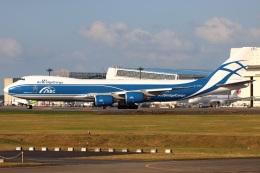 たみぃさんが、成田国際空港で撮影したエアブリッジ・カーゴ・エアラインズ 747-8HVFの航空フォト(飛行機 写真・画像)