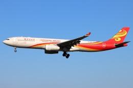 たみぃさんが、成田国際空港で撮影した香港航空 A330-343Xの航空フォト(飛行機 写真・画像)