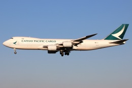 たみぃさんが、成田国際空港で撮影したキャセイパシフィック航空 747-867F/SCDの航空フォト(飛行機 写真・画像)