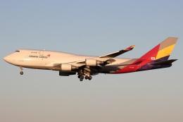たみぃさんが、成田国際空港で撮影したアシアナ航空 747-48EM(BDSF)の航空フォト(飛行機 写真・画像)