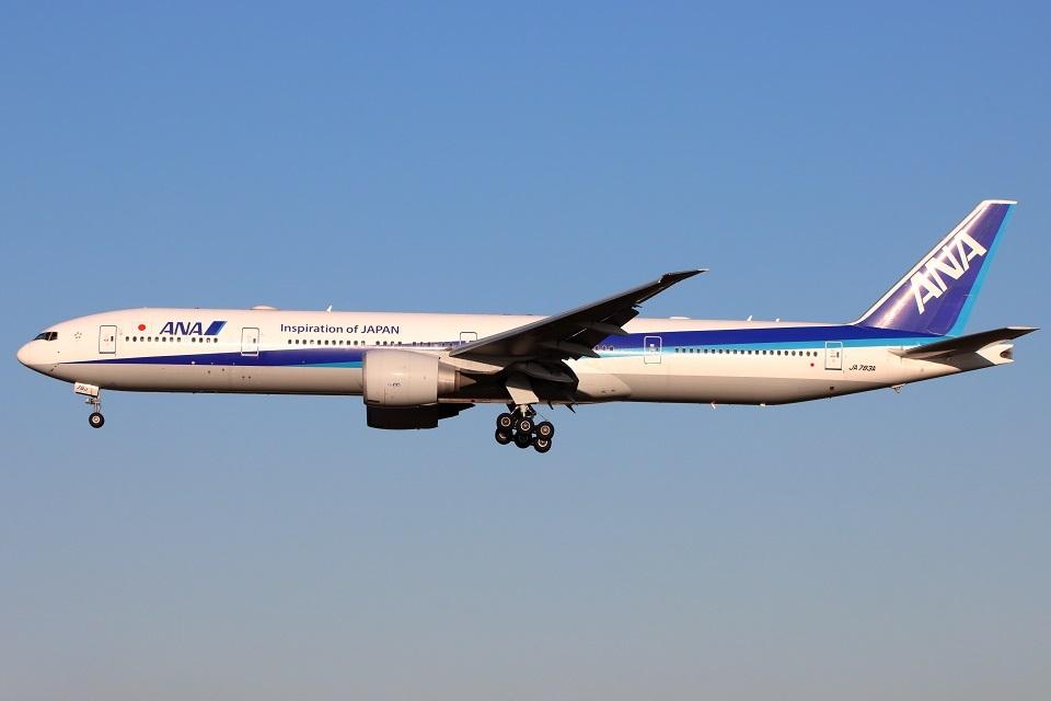 たみぃさんの全日空 Boeing 777-300 (JA783A) 航空フォト