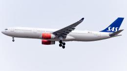 Shotaroさんが、上海浦東国際空港で撮影したスカンジナビア航空 A330-343Xの航空フォト(飛行機 写真・画像)