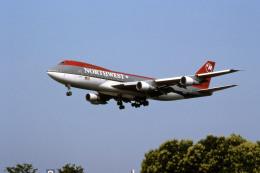 Gambardierさんが、伊丹空港で撮影したノースウエスト航空 747-251Bの航空フォト(飛行機 写真・画像)