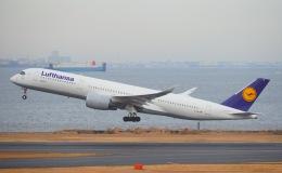 Matyaruさんが、羽田空港で撮影したルフトハンザドイツ航空 A350-941の航空フォト(飛行機 写真・画像)