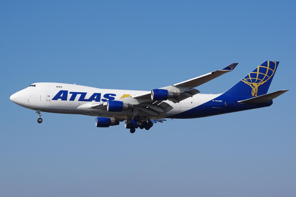 Tatsuya.Kさんのアトラス航空 Boeing 747-400 (N446MC) 航空フォト