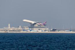 Koenig117さんが、関西国際空港で撮影したタイ国際航空 777-3AL/ERの航空フォト(飛行機 写真・画像)