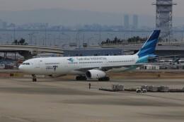 PW4090さんが、関西国際空港で撮影したガルーダ・インドネシア航空 A330-343Eの航空フォト(飛行機 写真・画像)