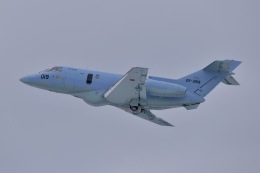 falconさんが、秋田空港で撮影した航空自衛隊 U-125A(Hawker 800)の航空フォト(飛行機 写真・画像)