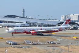 Deepさんが、関西国際空港で撮影したエアアジア・エックス A330-301の航空フォト(飛行機 写真・画像)