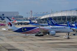 天心さんが、関西国際空港で撮影したマレーシア航空 A350-941の航空フォト(飛行機 写真・画像)