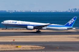 KoshiTomoさんが、羽田空港で撮影した全日空 777-381/ERの航空フォト(飛行機 写真・画像)