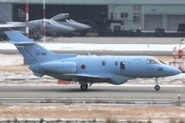 もにーさんが、小松空港で撮影した航空自衛隊 U-125A(Hawker 800)の航空フォト(飛行機 写真・画像)