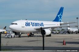 kina309さんが、パリ シャルル・ド・ゴール国際空港で撮影したエア・トランザット A310-308の航空フォト(飛行機 写真・画像)