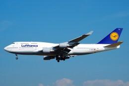 ちっとろむさんが、フランクフルト国際空港で撮影したルフトハンザドイツ航空 747-430の航空フォト(飛行機 写真・画像)