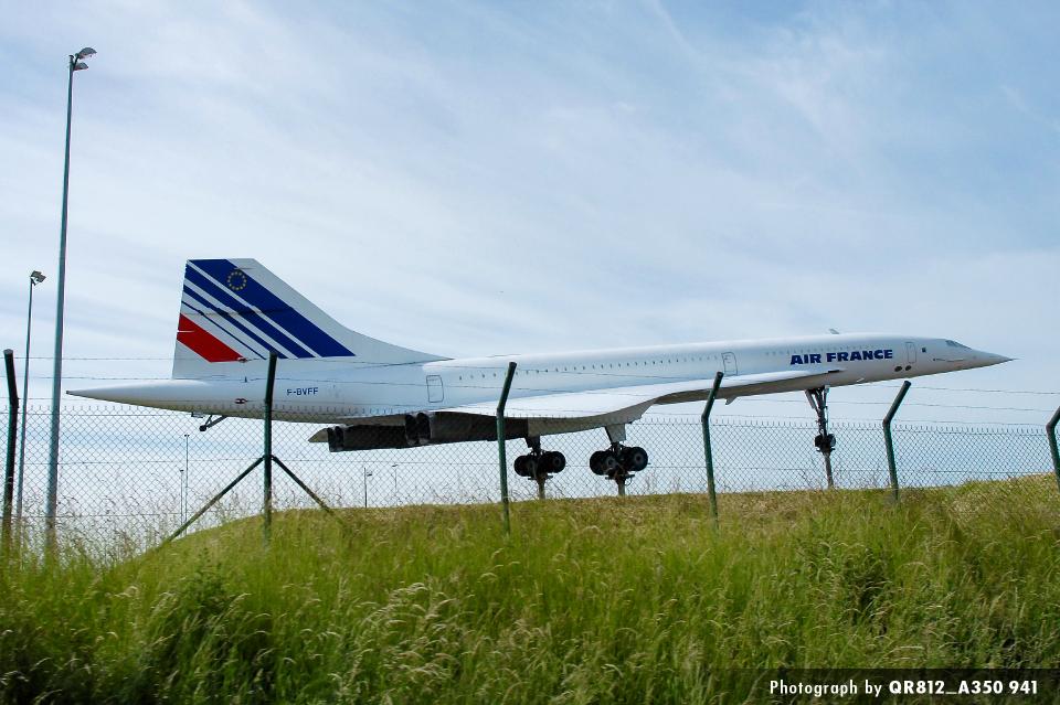 kina309さんのエールフランス航空 コンコルド (F-BVFF) 航空フォト